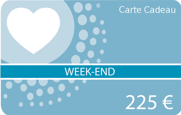 Carte cadeau - tarif week-end
